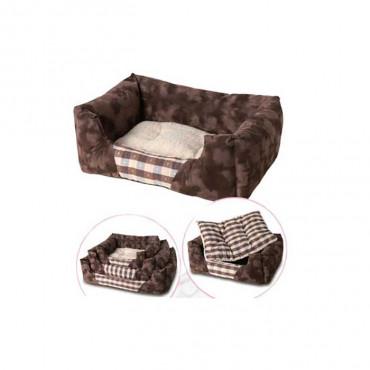 Ribecan Cama quadrada para cães