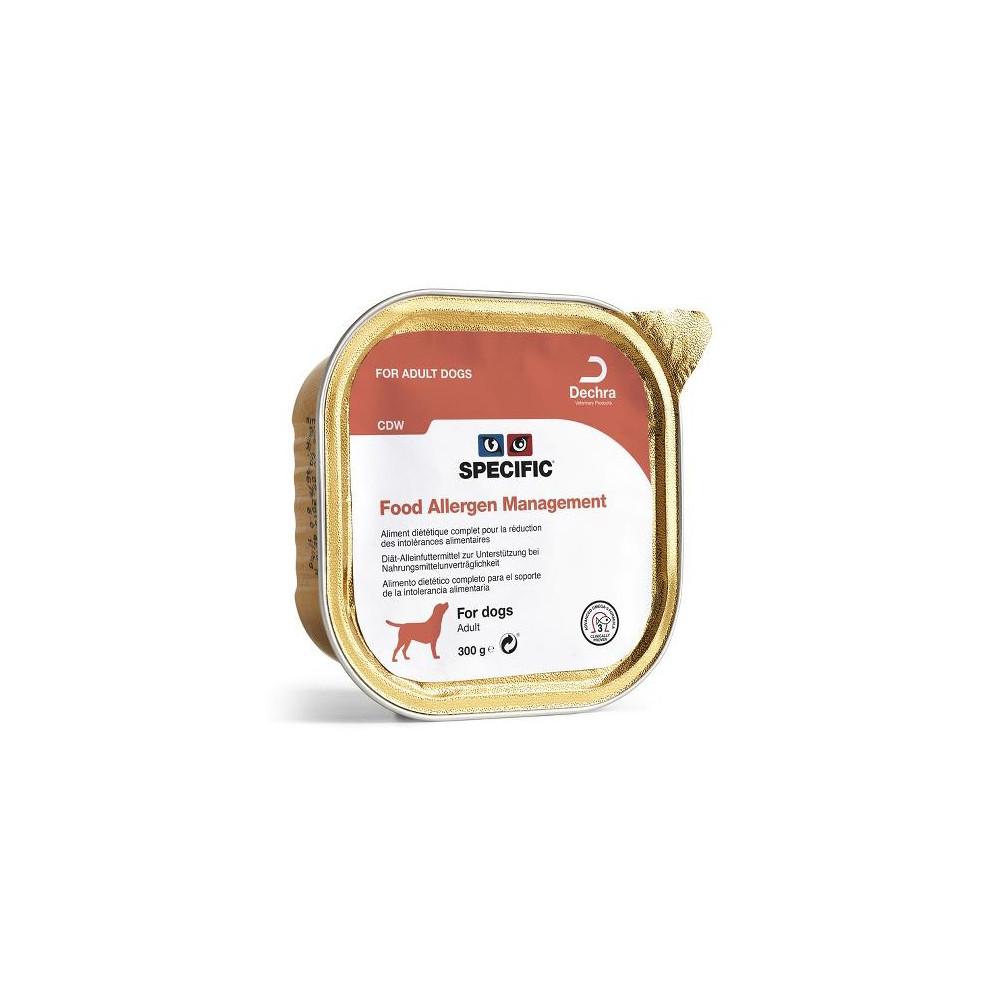 Specific CDW Food Allergen Management Cão adulto