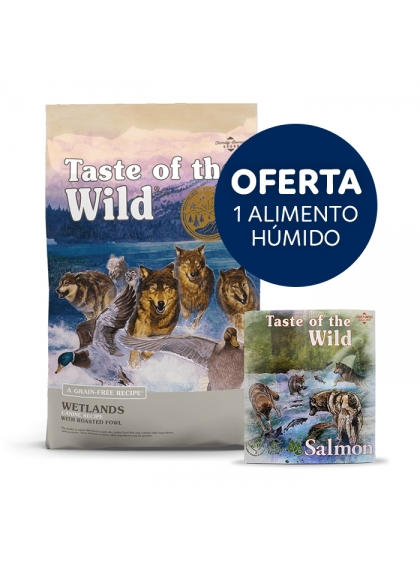 Taste of the Wild Wetlands Cão Adulto