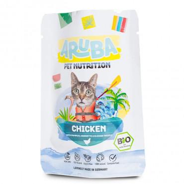 ARUBA Alimento para gato - Frango com abóbora e curgete