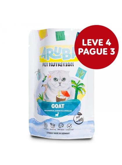 ARUBA Alimento para gato - Cabra, abóbora e curgete