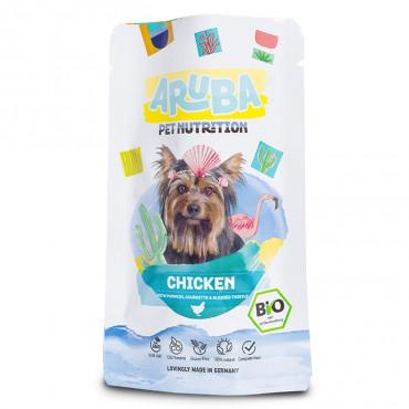 ARUBA Alimento para cão - Frango com abóbora e curgete