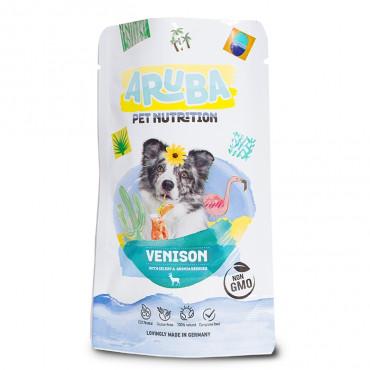 ARUBA Alimento para cão - Veado, aipo e bagas de arónia