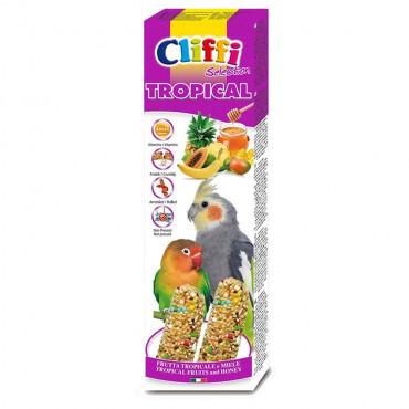 CLIFFI - Sticks para Grandes Periquitos com Frutos e Mel