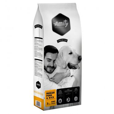 Amity Premium Cão adulto - Porco ibérico e arroz