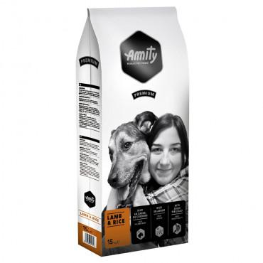 Amity Premium Cão adulto - Cordeiro e arroz