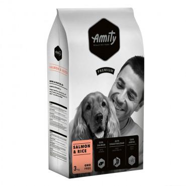 Amity Premium Cão adulto - Salmão e arroz