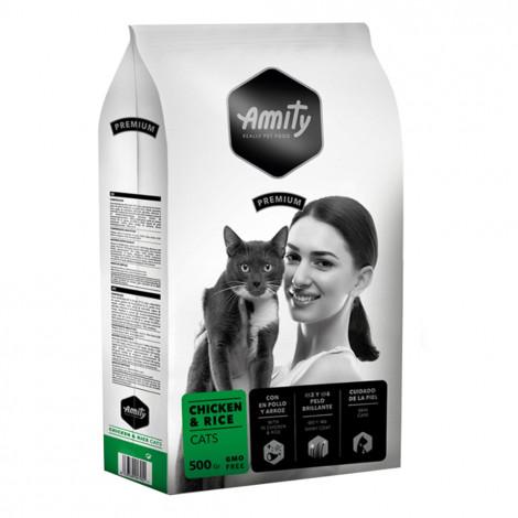 Amity Premium Gato adulto - Frango e arroz