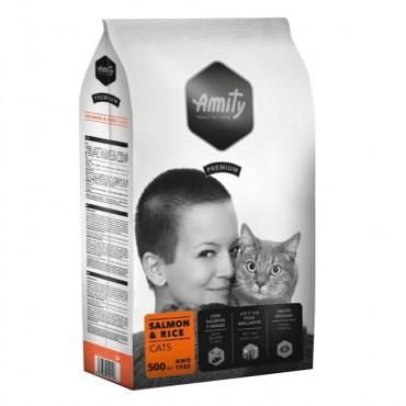 Amity Premium Gato adulto - Salmão e arroz
