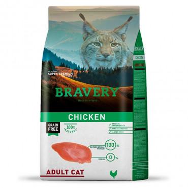 Bravery Gato adulto - Frango
