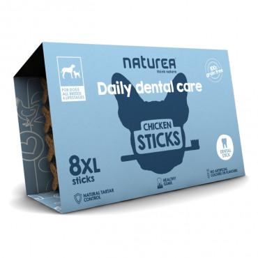 Naturea Daily Dental Care XL Sticks para cão - frango