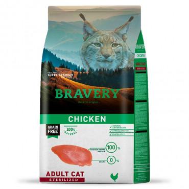 Bravery Gato adulto esterilizado - Frango