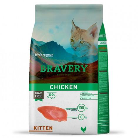 Bravery Gato Kitten - Frango
