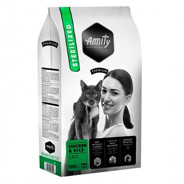 Amity Premium Sterilized Gato adulto - Frango e arroz
