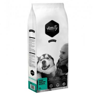 Amity Premium High Performance Cão adulto - Frango e arroz