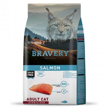 Bravery Gato adulto esterilizado - Salmão