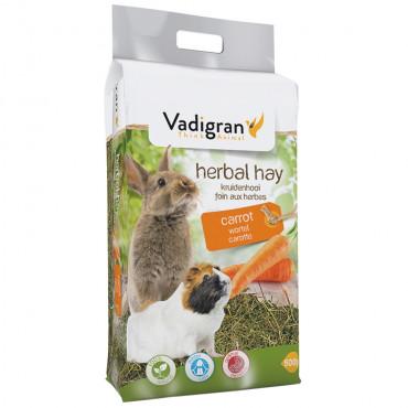 Feno natural com cenoura para roedores - Vadigran
