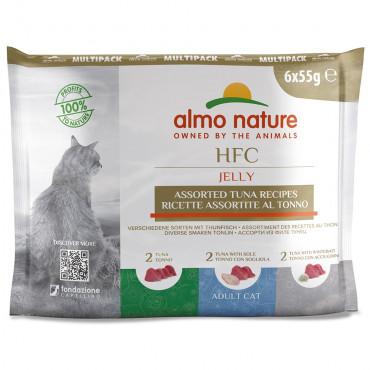 Almo Nature HFC Jelly Gato - Multipack Atum
