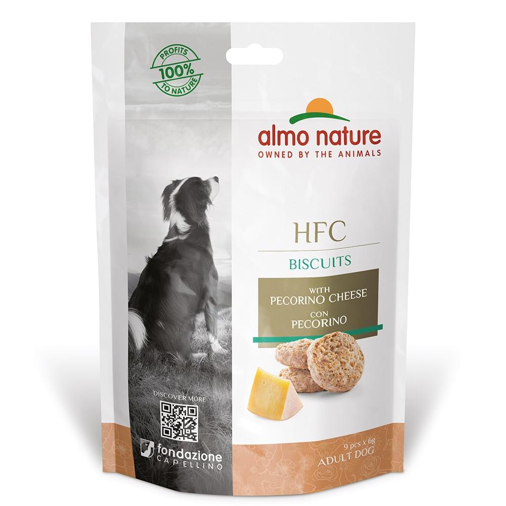 Almo Nature HFC Biscuits Cão - Queijo pecorino