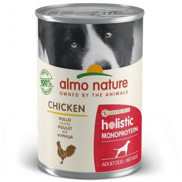 Almo Nature Monoprotein Cão adulto - Húmido de Frango