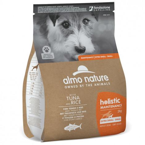Almo Nature Holistic Cão adulto extra small/small - Atum e arroz