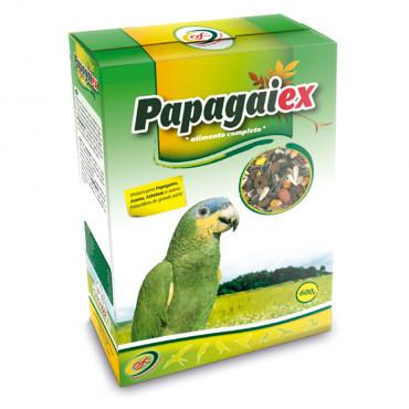 Papagaiex Mistura com frutos para papagaios