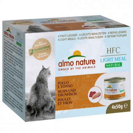 Almo Nature HFC Natural Light Gato - Frango e atum