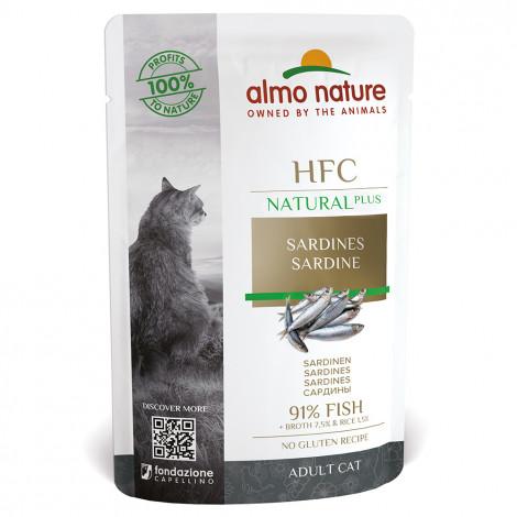 Almo Nature HFC Natural plus Gato - Sardinha