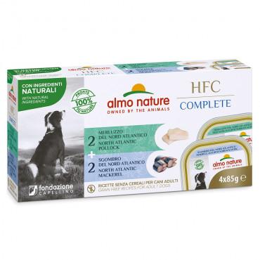 Almo Nature HFC Complete Cão - Multipack Bacalhau e cavala