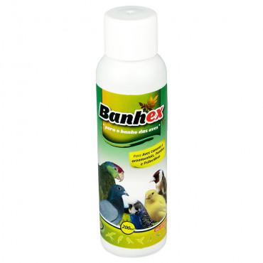 Banhex Produto para o banho das aves