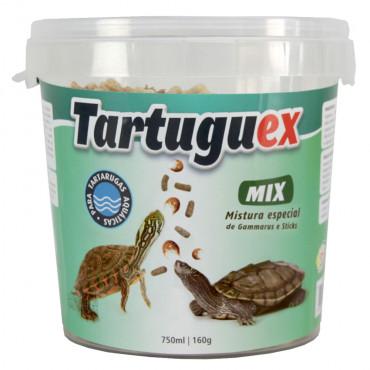 Tartuguex Mix - Mistura de gammarus e sticks para tartarugas