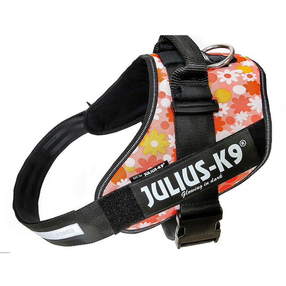Julius K-9 IDC Peitoral para cão - Floral