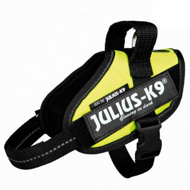 Julius K-9 IDC Peitoral para cão - Amarelo néon