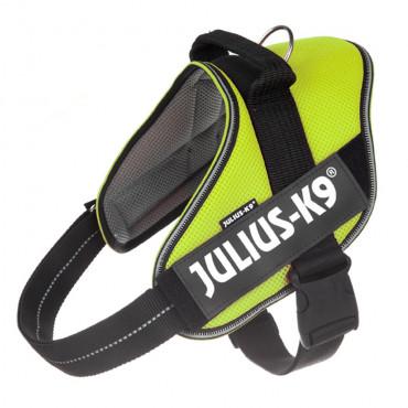 JULIUS K-9 IDC Powair summer Peitoral para cão - Amarelo néon
