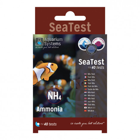 Reef Evolution Teste de NH4 - Aquarium Systems