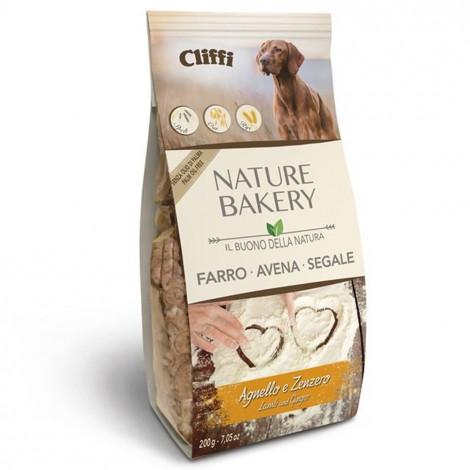 Cliffi Nature Bakery Snacks para cão - Cordeiro e gengibre