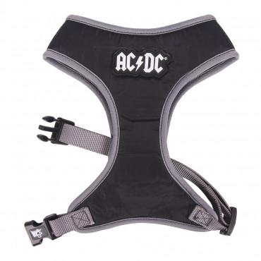 Peitoral AC/DC para cão