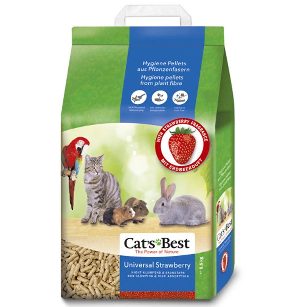 Cat's Best Litter granulado de morango