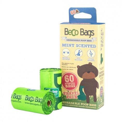 Sacos biodegradáveis de menta para cão - Beco Bags