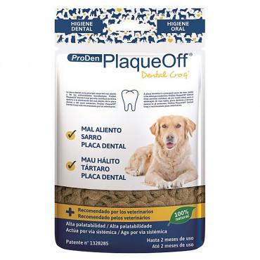 Snack dentário PlaqueOff para cães - ProDen