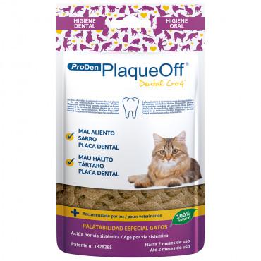 Snack dentário PlaqueOff para gato - ProDen