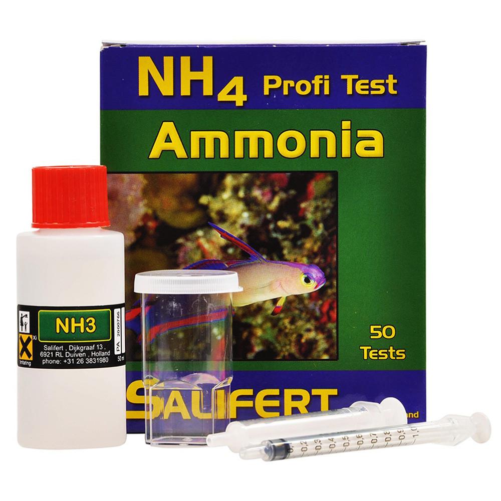 Teste NH4/NH3 - Salifert
