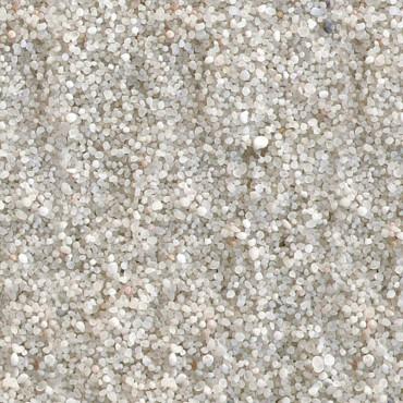 Areia branca fina para aquário