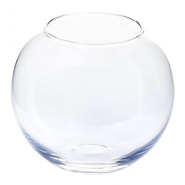 Aquário globo em vidro sem gola