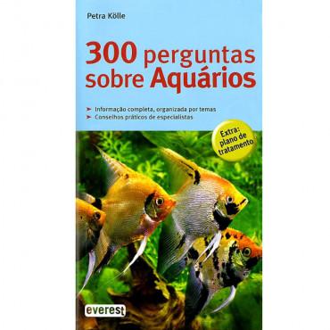 Livro 300 perguntas sobre Aquários