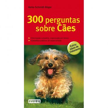 Livro 300 perguntas sobre Cães