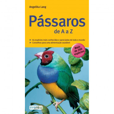 Livro Pássaros de A a Z