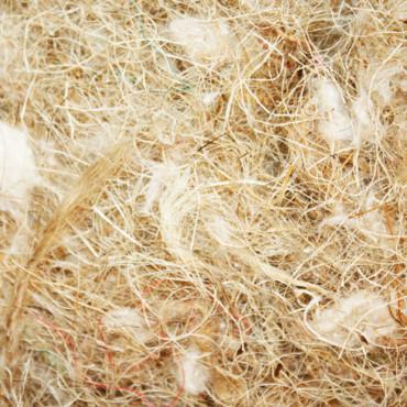 Fibras de coco/ sisal/ juta e algodão para ninhos - Quiko