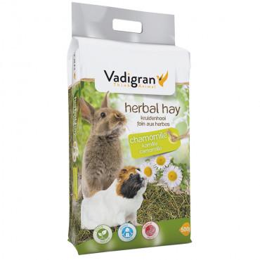 Feno natural com camomila para roedores - Vadigran