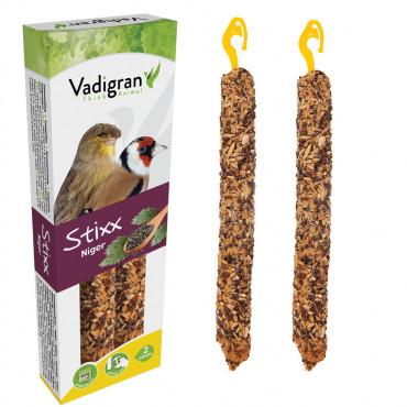 Sticks Stixx com niger para canários e fauna europeia - Vadigran